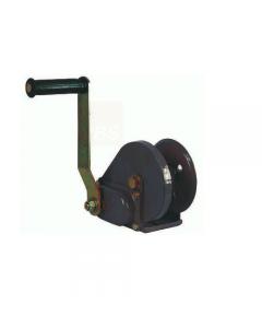 Maurer argano a manovella in acciaio ad alta resistenza con freno automatico di sicurezza. Portata kg 1150 oppure kg 540.