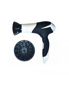 Maurer asciugacapelli 2 velocità aria fredda diffusore bocchetta concentratore 1800 watt