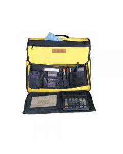Maurer borsa  a tracolla porta utensili e attrezzi in poliestere. Dimensioni cm 43 z 18 x 35.
