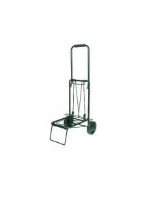 Maurer carrello pieghevole per bagagli con 2 ruote portata 45 kg