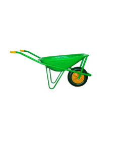 Maurer carriola per edilizia verniciata vasca 70 litri ruota pneumatica mm 350 x 80 - modello montato