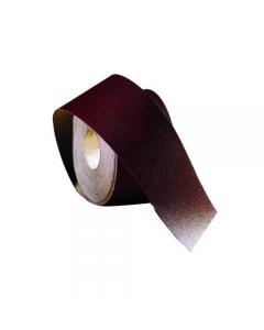 Maurer carta abrasiva spaziata al corindone FED. Altezza mm 115. Cosparsione aperta. Applicazioni: legno, adesivo, colla, supporto carta. Peso 110 - 135 grammi per metro quadrato.