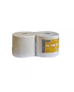 Maurer carta per asciuga mani in pura ovatta di cellulosa rotolo 850 strappi