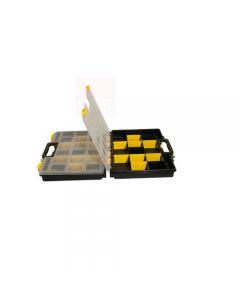 Maurer cassetta multiuso porta minuterie con separatori. In polipropilene. Dimensioni cm 38 x 33 x 12.