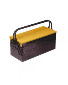 Maurer cassetta porta utensili e attrezzi a 5 scomparti in lamiera verniciata