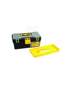 Maurer cassetta porta utensili e attrezzi mini in polipropilene. Coperchio con vaschette portaminuterie. Dimensioni cm 33 x 17,5 x h 15.