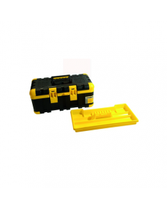 Maurer cassetta porta utensili e porta attrezzi con vassoio in metallo e plastica. Dimensioni cm 50,5 x 30 x 22.