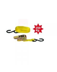 Maurer cinghia doppia per bagagli con morsetto a cricchetto