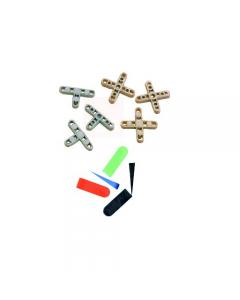 Maurer distanziatori in plastica per piastrelle confezione da 250 pezzi
