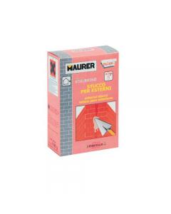 Maurer Edilbriko stucco per esterni. per piccole riparazioni esterne, lisciature, fori, sbrecciature superficiali. 12 confezioni da 1 kg.