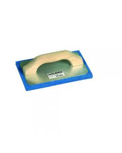 Maurer frattone con manico in legno con gomma spugna colore blu e base in alluminio
