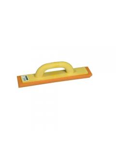 Maurer frattone in polistirolo per angoli interni con gomma spugna arancio dimensioni lunghezza mm 350 sezione mm 70 x 50