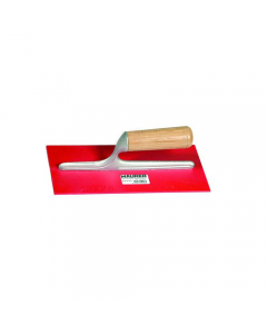 Maurer frattone rettangolare in ABS con manico in legno mm 280 x 120