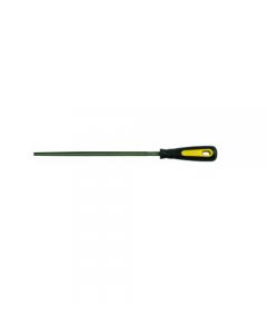 Maurer lima tonda con manico taglio mezzo dolce lunghezza mm 150, mm 200, mm 250. 5 pezzi.
