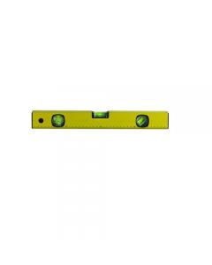 Maurer livella in alluminio colore giallo 3 bolle