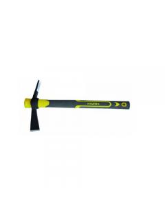 Maurer martellina malepeggio manico antisdrucciolevole in TPR bicomponente  gomma fibra di vetro in acciaio forgiato temperato