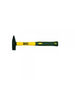 Maurer martello tipo tedesco con manico in fibra di vetro. Testa in acciaio forgiato.