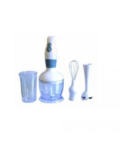 Maurer minipimer con accessori 2 velocità bicchiere di misurazione in plastica 0,5 litri ciotola tritatutto frusta gambo frullatore 250-300 watt