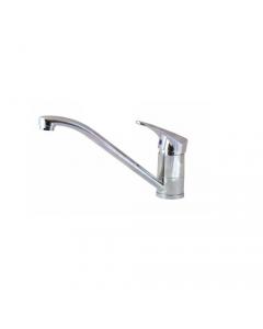"""Maurer miscelatore rubinetto per lavello cucina in ottone cromato completo di tubi flex 3/8"""" femmina"""