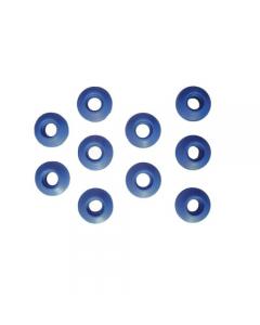 Maurer occhielli occhioli a vela a martello per teli occhiellati in materiale termoplastico - blister da 10 pezzi