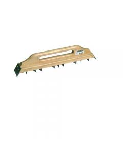Maurer pialla per gesso in legno con lama in acciaio mm 0.8 dimensioni mm 470 x 70