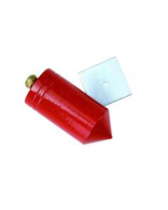 Maurer piombo per muratori tipo cilindrico con piastrina