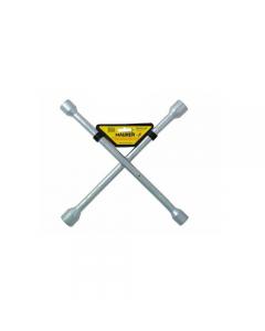 Maurer Plus chiave a croce per automobili in acciaio al carbonio. mm 17 - 19 - 21 - 23.