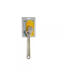 Maurer Plus chiave a rullino graduata in acciaio al cromo vanadio satinato.