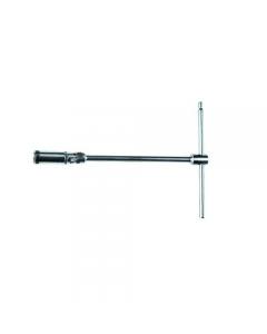 Maurer Plus chiave a T snodata per candele in acciaio al cromo vanadio.