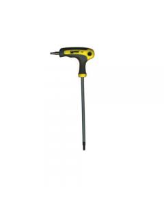 Maurer Plus chiave maschio torx con impugnatura a L. Con foro. In acciaio al cromo vanadio.