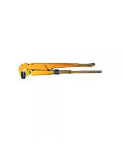 Maurer Plus giratubi modello svedese con ganasce diritte a 90 gradi in acciaio al cromo vanadio.