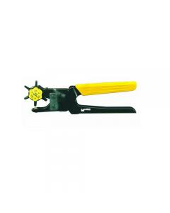 Maurer Plus pinza a 6 fustelle mm 230. Fustelle diametro mm 2 - 4,5. Manici rivestiti in pvc.
