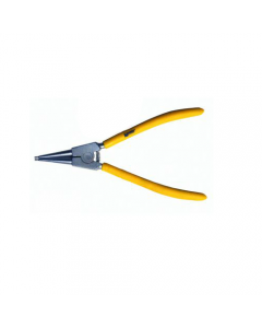 Maurer Plus pinza per anelli esterni a becchi diritti. In acciaio al cromo vanadio satinato con manici rivestiti in pvc.