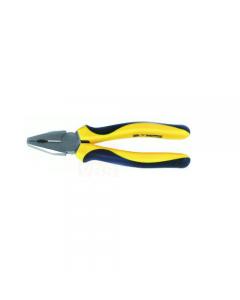 Maurer Plus pinza universale in acciaio al cromo vanadio satinato con manici rivestiti in pvc
