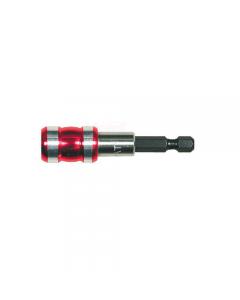"""Maurer Plus portainserti magnetico a scatto attacco 1/4"""" mm 65. 5 pezzi."""