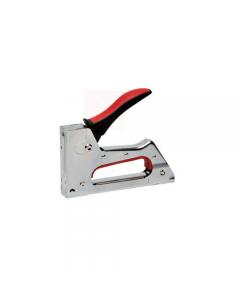 Maurer Plus TS5580 fissatrice a scatto. Corpo in metallo. Impugnatura ergonomica rivestita in gomma morbida. Punti N.3 (6-10mm).