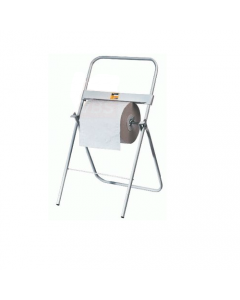Maurer portarotolo carta per asciugare mani a pavimento tubolare diametro mm 20 verniciato a polveri epossidiche