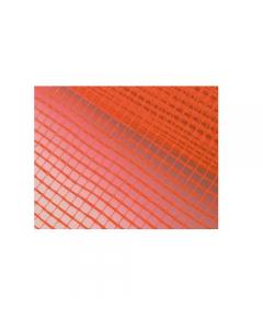 Maurer rete portaintonaco in fibra di vetro colore arancio rotolo lunghezza 50 metri. Maglia mm 5 x 5. Resistenza 150 grammi / metro quadrato. Altezza cm 100.
