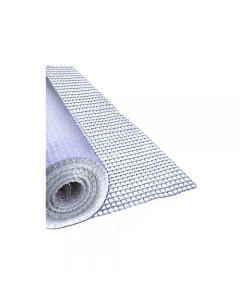 Maurer rete portaintonaco in fibra di vetro rotolo 50 metri colore bianco