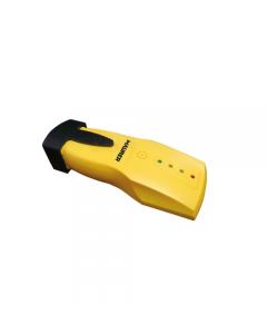 Maurer rilevatore di metalli funzionante con batteria 9 Volt (non inclusa). Sensibilità di profondità circa 1,9 cm. Precisione della posizione 3 mm. Notifica rilevamento acustica e luminosa. Potenza 50 MW.