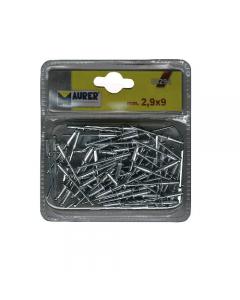 Maurer rivetti a strappo in alluminio in blister. 75 pezzi.