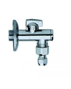 Maurer rubinetto sotto lavabo con filtro e snodo