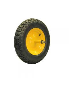 Maurer ruota pneumatica per carriola asse mm 200 nucleo in acciaio diametro mm 350 x 80