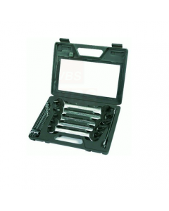 Maurer serie di chiavi fisse in valigetta. In acciaio al cromo vanadio.