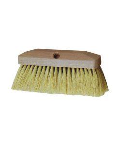 Maurer spazzolone in fibra di tampico senza manico cm 23 supporto in legno per catrame