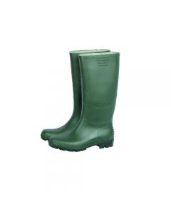 Maurer stivale in pvc al ginocchio colore verde suola carrarmato