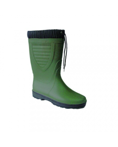 Maurer stivali in pvc al ginocchio con imbottitura colore verde