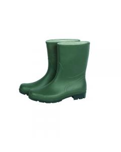 Maurer stivali in pvc tronchetto colore verde con suola carrarmato