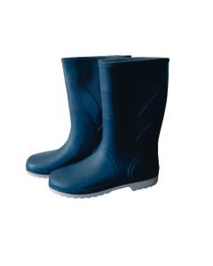 Maurer stivali in pvc tronchetto per donna colore blu