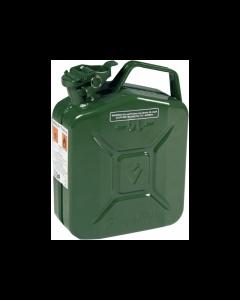 Maurer tanica in metallo colore verde